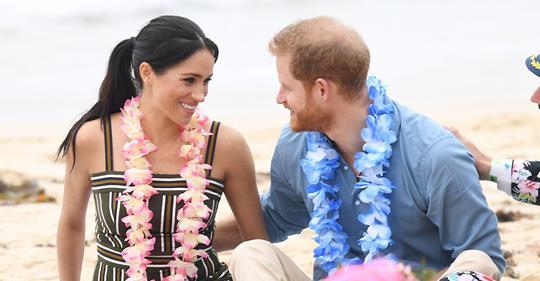Barfuß-Beachday bei Meghan & Harry: Geht es noch verliebter?