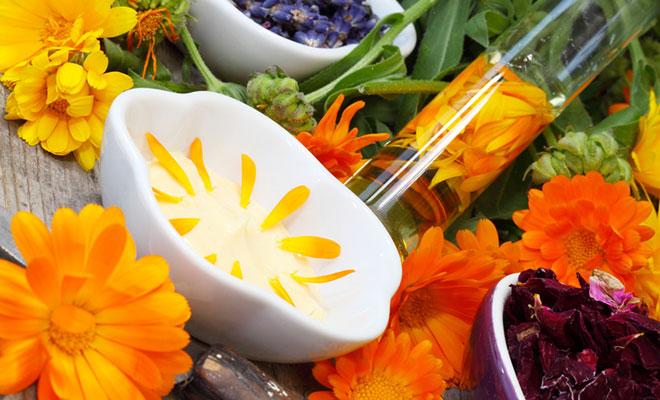 Salben selbst herstellen mit Heilkräutern und Blüten