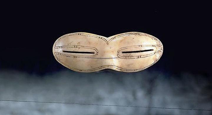 Die älteste Sonnenbrille der Welt