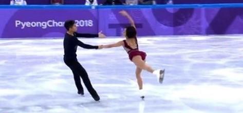Dieses Paar überraschte das Publikum mit ihrer Version von Hallelujah