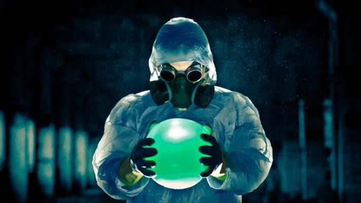 Warum wird Strahlung mit der grünen Farbe assoziiert?