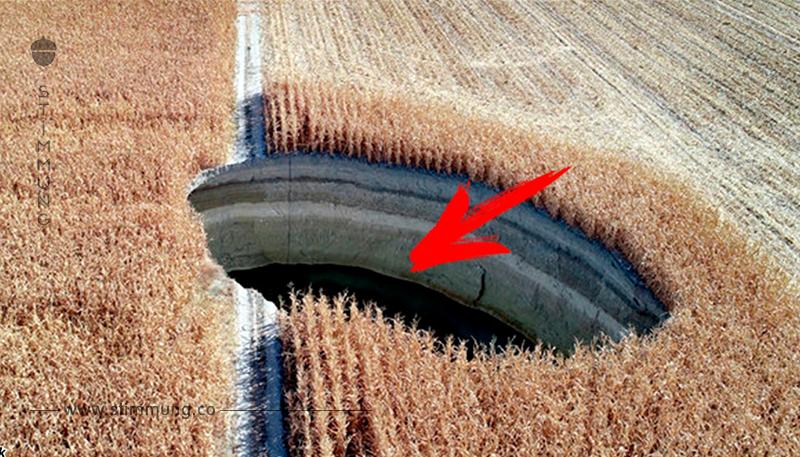 An verschiedenen Orten der Türkei erscheinen große Bodenbrüche. Und alles wegen der Leute!
