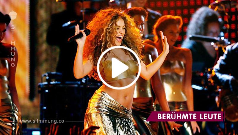 Echtes Talent! Shakira tanzte in Marokko einen Bauchtanz auf der Bühne!