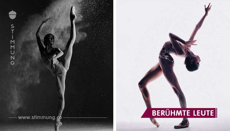 Die junge Ballerina eroberte das Netzwerk mit ihrer Anmut und Zärtlichkeit. Atemberaubend!