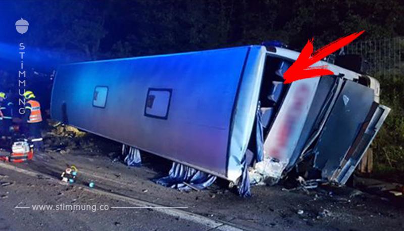 Schwerer Busunfall auf A1 fordert viele Verletzte
