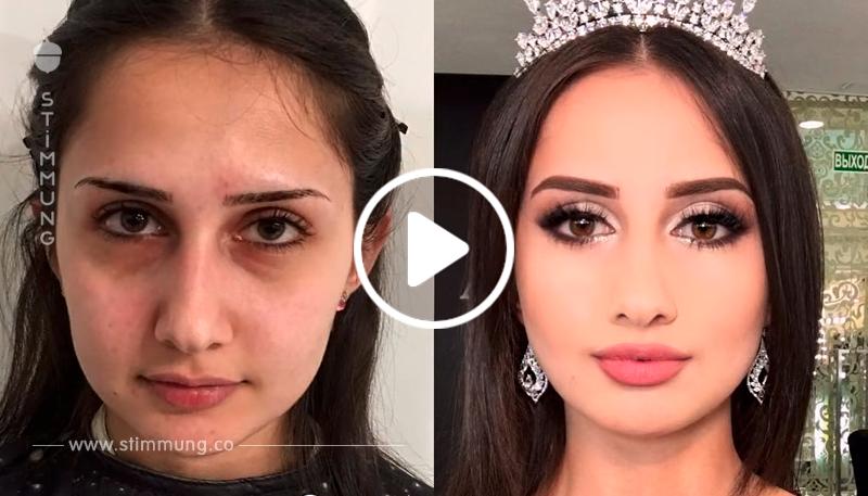 Die Kunst des Make-up ist eine große Kraft! Die Männer  sollten vorsichtiger sein!