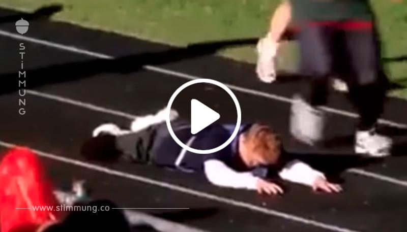 Wie Kinder mit Down-Syndrom am Laufen-Marathon teilgenommen haben. Dies sollte eine Lektion für alle sein!