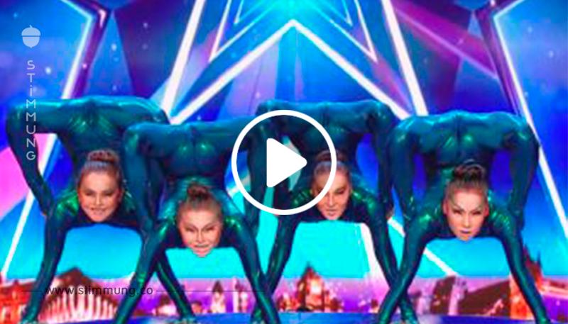 Diese Mädchen haben die Halle der Show