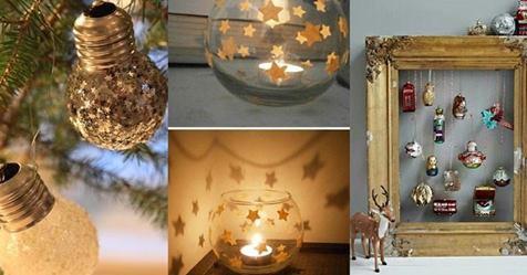 Eine Sammlung der schönsten Ideen für Weihnachtsdekoration finden Sie hier! Nummer 3 ist so gemütlich!