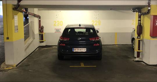 Viel schlimmer kann man nicht mehr parken