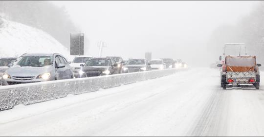 Wintereinbruch: 20 cm Schnee kommen