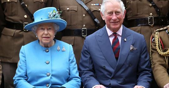 Die Queen richtet rührende Worte an ihren Sohn zum B-Day