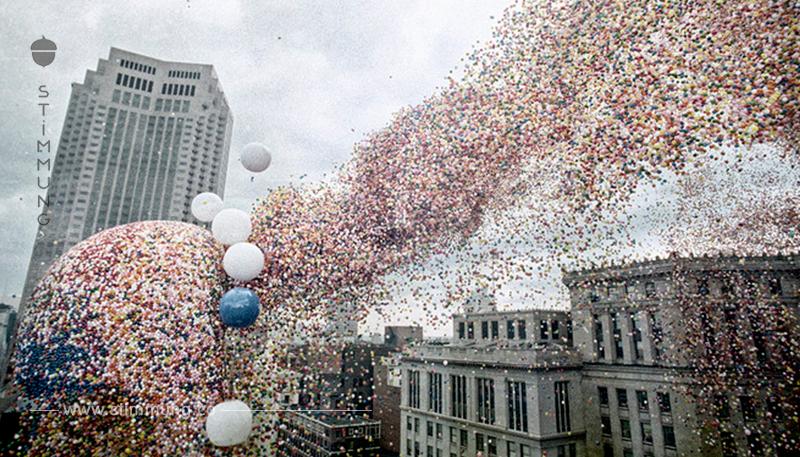 Eine Geschichte von 1,5 Millionen Luftballons. Ein Rekord, der sich in eine Kugelkatastrophe verwandelte. Ein Rekord, der sich in eine Katastrophe verwandelte