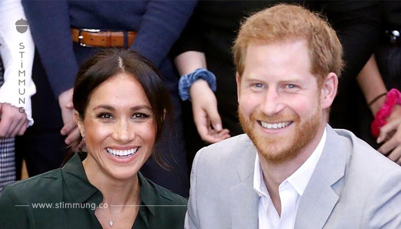 Megan Markle, die Frau von Prinz Harry, ist schwanger mit ihrem ersten Kind!
