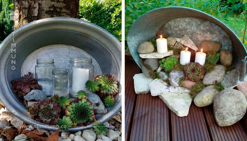 Haben Sie zu Hause eine Tonne aus Zink? Machen sie daraus eine schöne Herbstdekorationen für Ihr Zuhause… Großartige Beispiele!