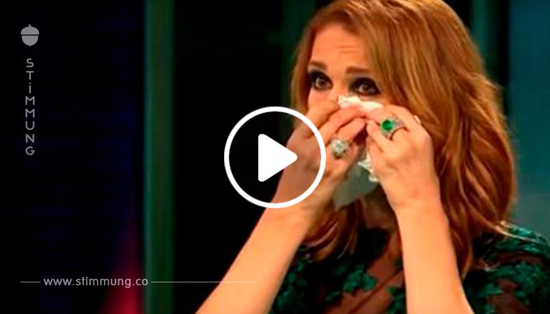 Sänger, der genau wie Freddie Mercury klingt, rührt Celine mit Queen Megahit zu Tränen