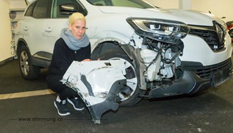 Totalschaden! Wer hat mein Auto so zugerichtet?