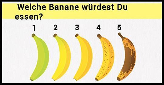 Welche Banane würdest Du essen? Die Entscheidung kann sich auf Deine Gesundheit auswirken
