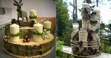 Noch irgendwo einen Baumstamm oder eine  scheibe herumliegen? 14 supertolle DIY Ideen aus Holz!