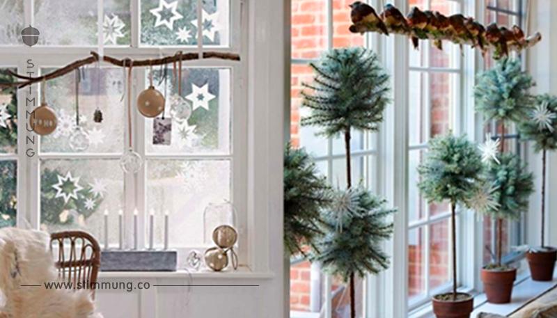 Vergessen sie nicht w hrend der feiertage ihre fenster zu schm cken 14 wundersch ne diy - Fenster geht nicht zu ...