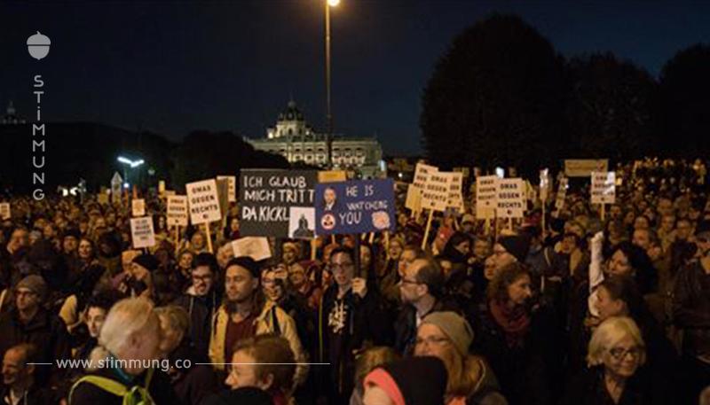 Donnerstags Demo  sorgt für Westausfahrt Sperre
