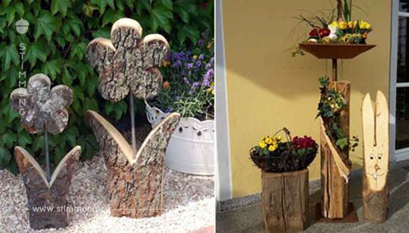 16 superschöne Dekorationsstücke aus Holz, mit denen Sie Ihr Haus aufheitern können!