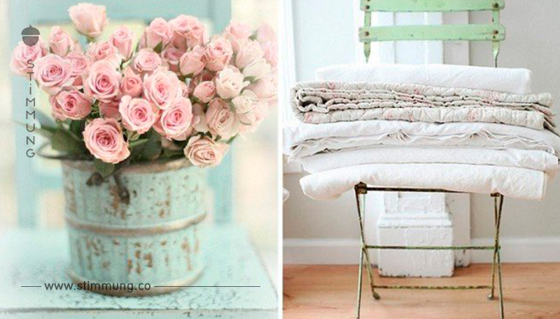 Wie wäre es einmal mit diesem Stil?! Die 10 schönsten Shabby Chic Ideen für Ihr Zuhause!
