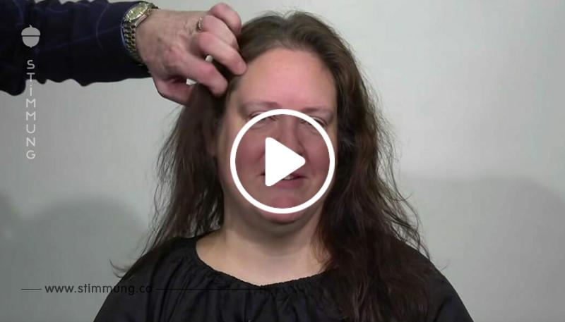 Flugbegleiterin hat genug von dünnen Haaren: Umstyling macht völlig neuen Menschen aus ihr