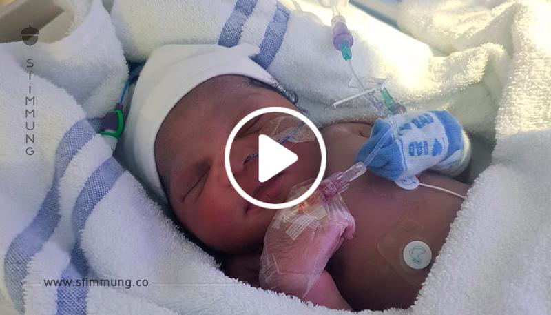 Sie hat um ihr Leben geweint. 30 Minuten altes Baby bei Minusgraden im Park ausgesetzt