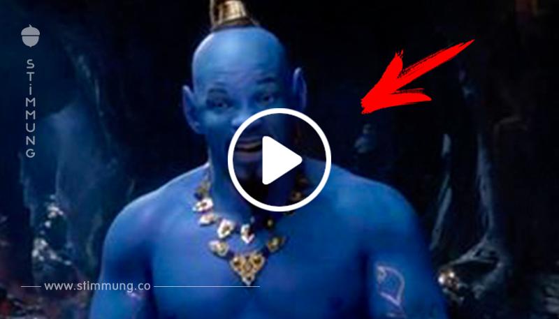 Will Smith als Flaschengeist? So sieht der Dschinni im kommenden  Aladdin  Remake aus