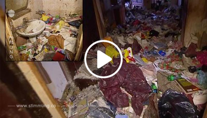 Mutter ließ es tagelang allein: Polizei befreit Kind aus stinkender Messie-Hölle