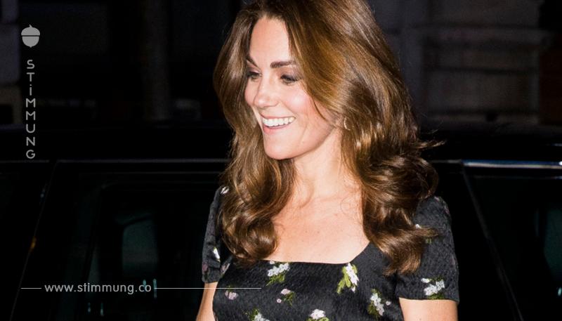 Kate Middleton beweist, dass sie eine Prinzessin ist, als sie in einem 4000 Euro teuren Alexander McQueen Kleid bei der Portrait Gala erscheint