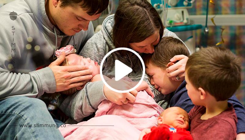 Für Organspende: Eltern zeigen Tochter 2 Stunden vor dem Tod.