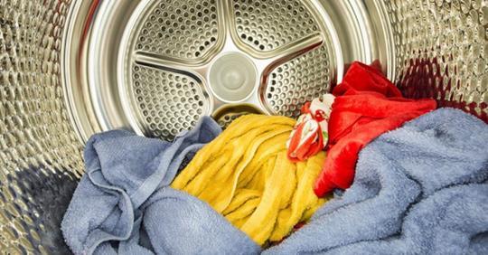Gib dies in deinen Trockner und deine Wäsche wird viel schneller fertig sein!