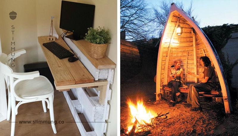 27 Super schlaue Ideen zum Selbermachen, wie man Dinge in Möbel umfunktionieren kann! Das ist echt cool!