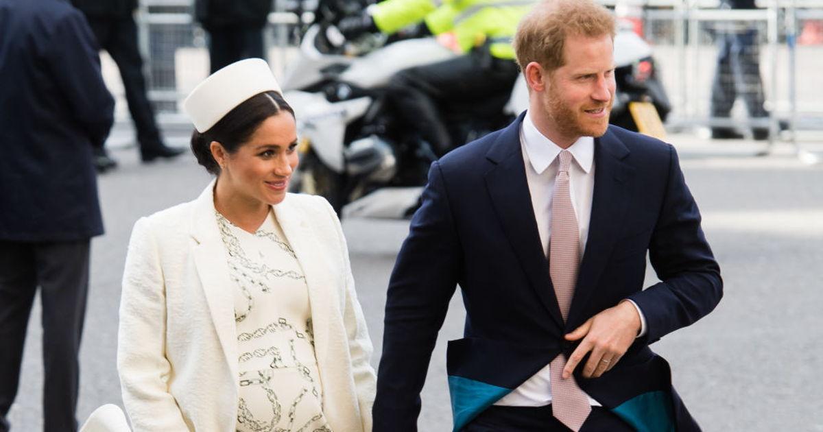 Meghan Markle bringt mit Prinz Harry einen Jungen zur Welt