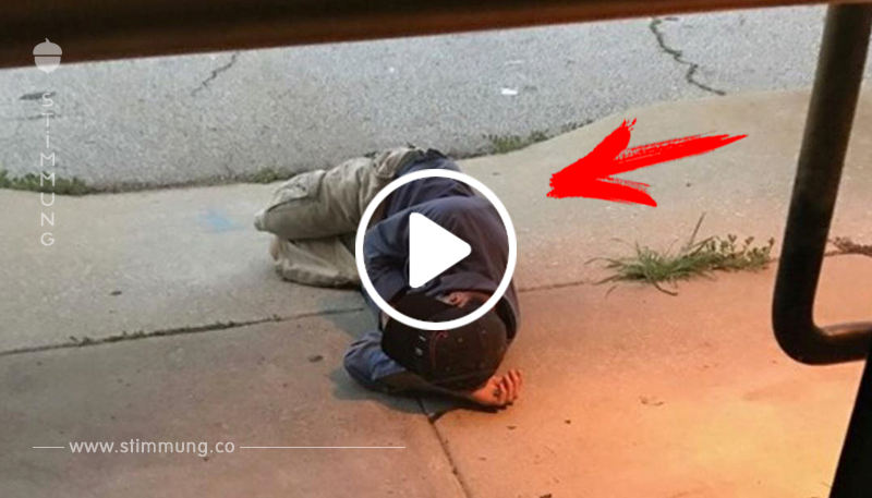 Mann schläft vor Tierheim, um Hund wiederzufinden.