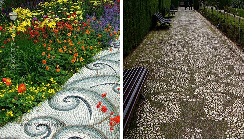 Die schönsten DIY Mosaik Gartenpfade mit Steinen! Nummer 3 möchte ich auch in meinem Garten haben!
