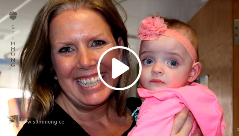 Ein Baby, das keine Besucher im Krankenhaus hatte, wurde von einer Krankenschwester adoptiert, die sich um sie kümmerte