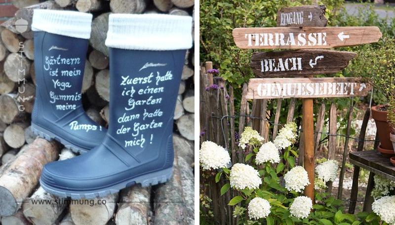 Machen Sie Ihren Garten einzigartig mit diesen 8 selbstgemachten Buchstaben und Wörtern für draußen!
