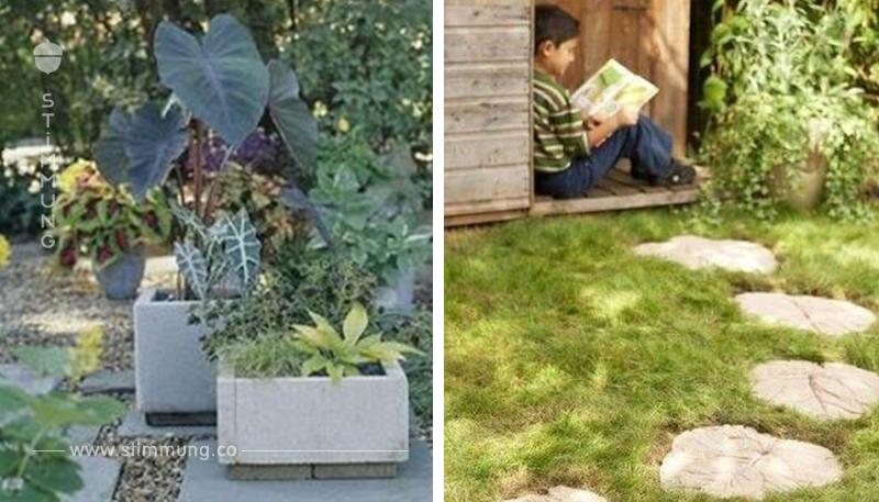 Zement ist super, schön und günstig! Sehr viele Zement Ideen für den Garten (GEHEIMTIPP)