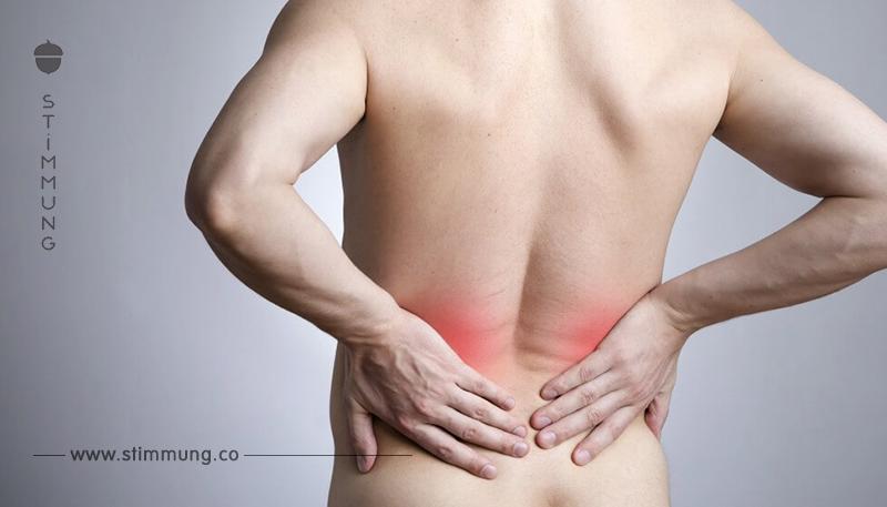 Ob Rückenschmerzen oder andere: 9 Schmerzzonen lasen Symptome deuten.