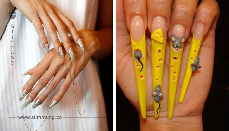 Fail Fingernägel: 15 Nageldesigns des Grauens.
