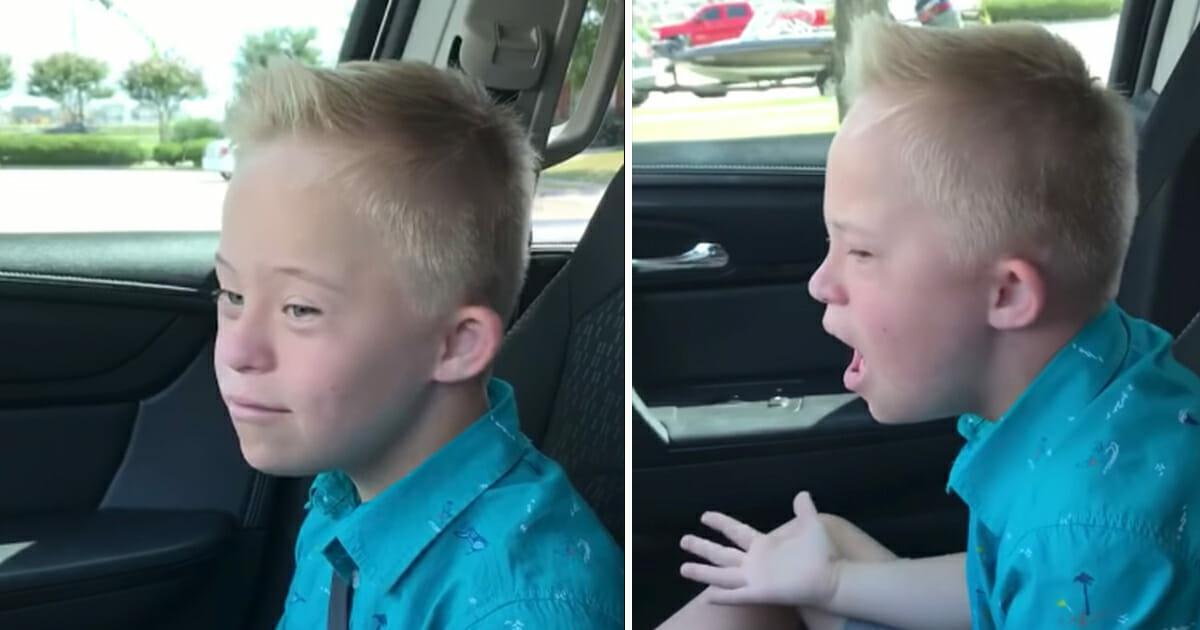 9 jähriger mit Down Syndrom singt Klassiker von Whitney Houston, begeistert vom ersten Ton an