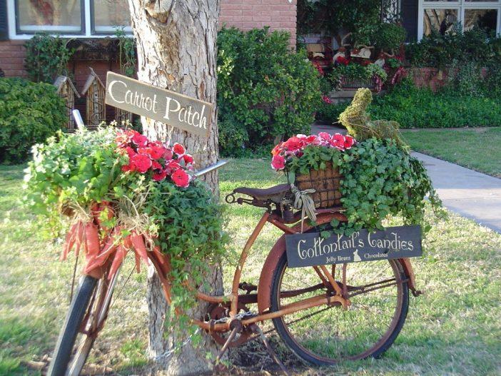 Antiquitäten sind nicht nur schön im eigenen Haus! Antiquitäten können Sie auch in Ihrem Garten verwenden. 13 Ideen!