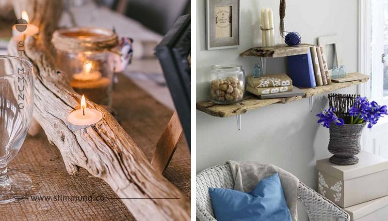 11 schöne DIY Ideen, die Sie mit Treibholz basteln können!