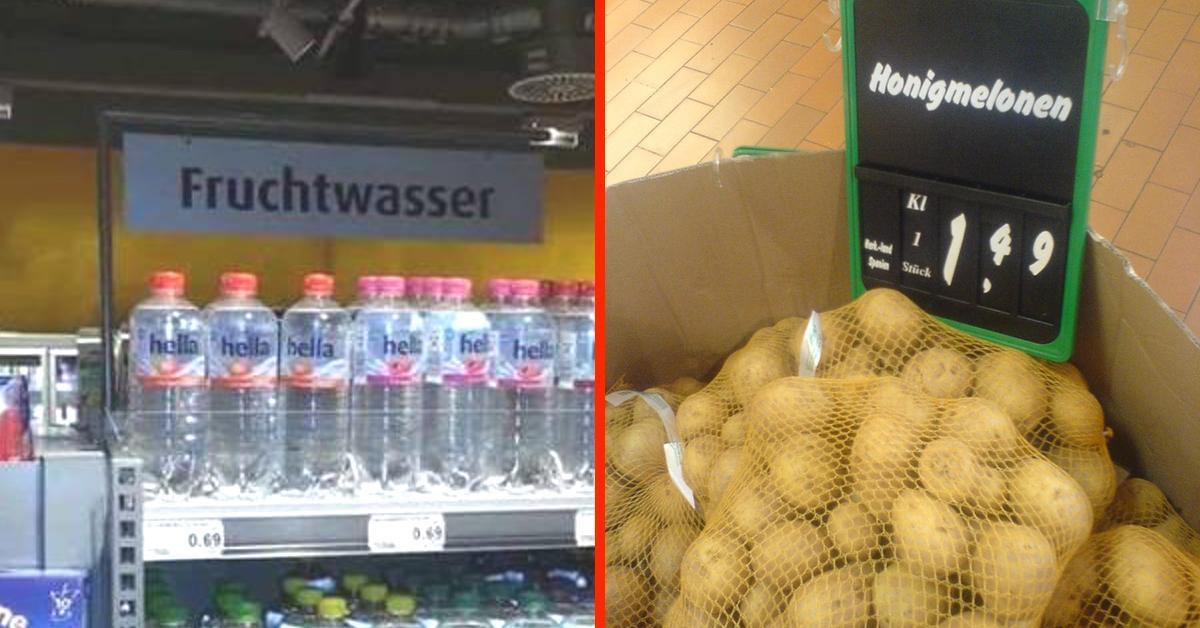 20 Bilder zeigen Alltagswahnsinn in deutschen Supermärkten.