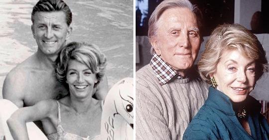 Wenn Du mich jemals verlässt, komme ich mit Dir, sagt Kirk Douglas am 65. Hochzeitstag zu seiner Frau Anne