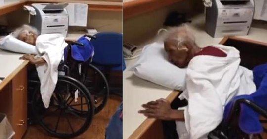Pastor ermutigt Familien, Überraschungsbesuche in Pflegeheimen zu machen, nachdem die 80 jährige Mutter über ein Kissen zusammengebrochen aufgefunden wurde