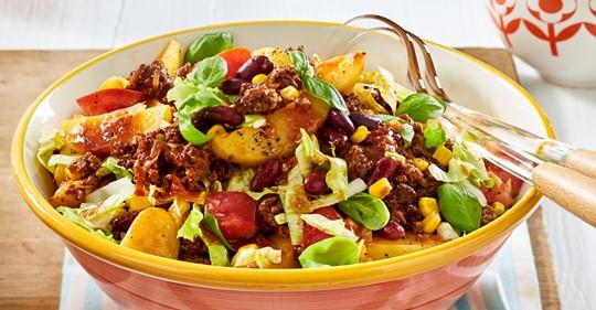 Chili-con-Carne-Kartoffelsalat